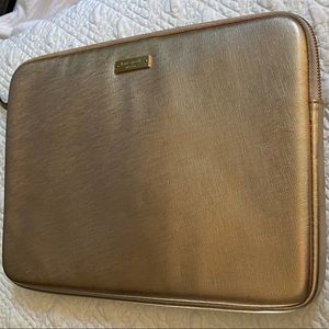 Kate Spade Rose Gold Laptop/Tablet Case Sleeve